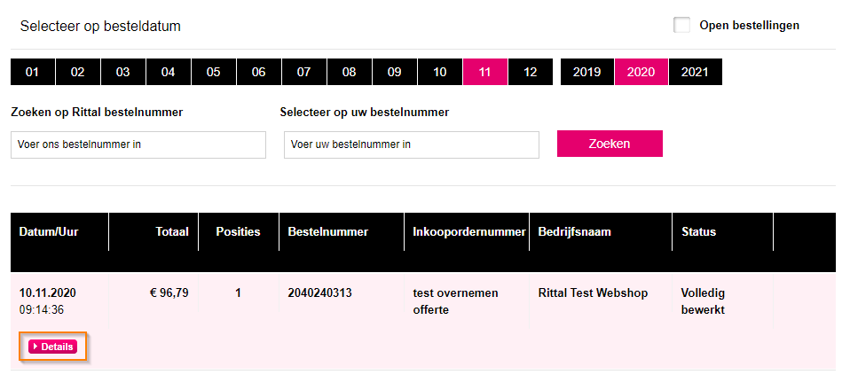 Rittal-webshop-bestelling-omzetten
