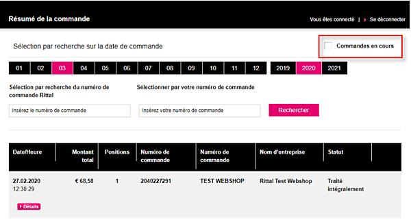 Rittal-webshop-besteloverzicht-fr