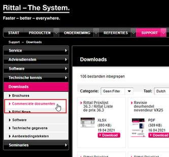 Rittal-prijslijsten-downloaden_2